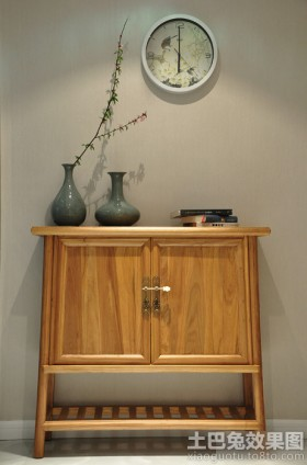 储物柜中式风格柜子效果图图片