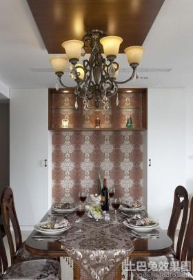 现代欧式餐厅吊灯图片
