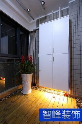 阳台产品简约阳台木地板装修效果图