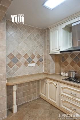 欧式风格欧式风格厨房墙砖效果图