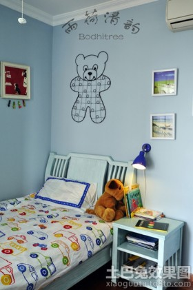 儿童房墙面手绘图片
