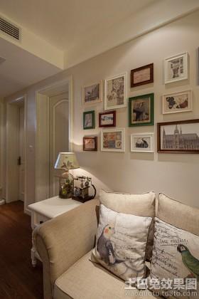80平米以下简约欧式50平米两室两厅装修图