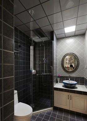 洗手台产品小平米卫生间装修效果图