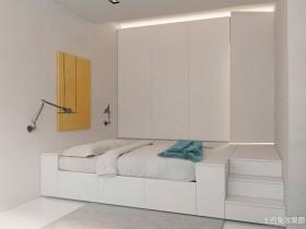 极简卧室小户型极简装修卧室图片4