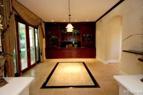别墅走廊u形地板砖效果图布利斯堡别墅图片6