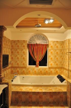 欧式古典风格浴室装潢图片欣赏