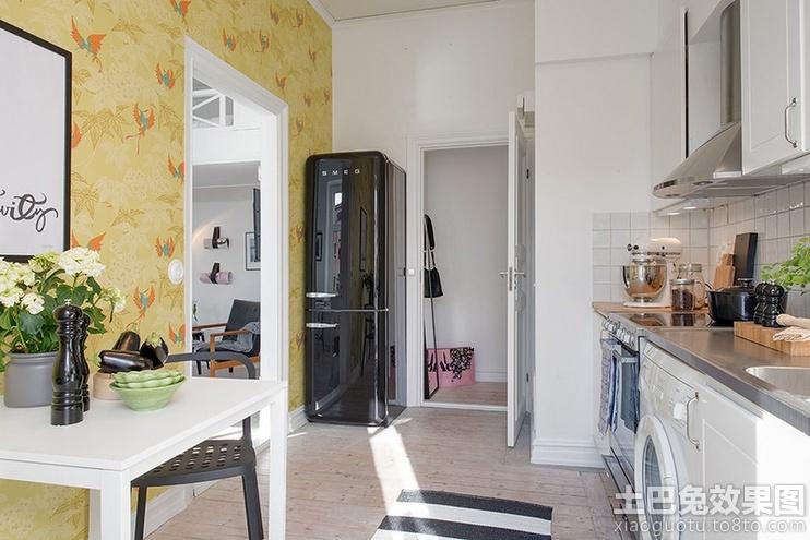 厨房玄关装修效果图片