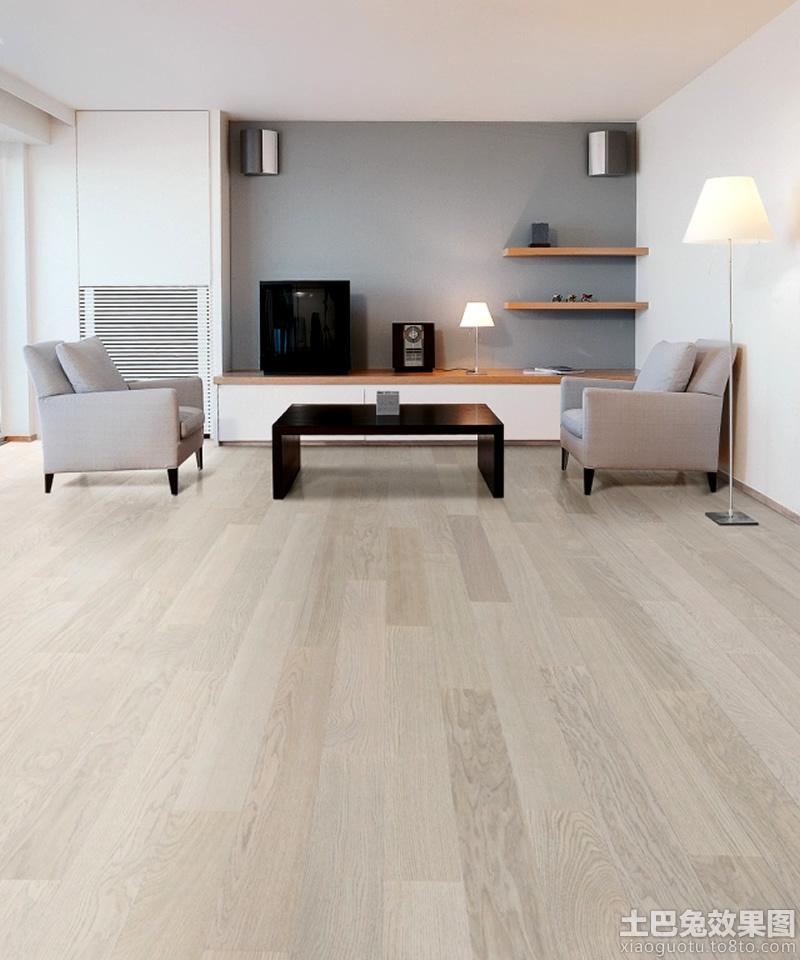 客厅浅色木地板材质贴图