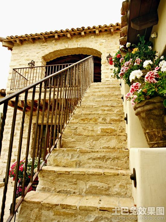 别墅室外楼梯效果图