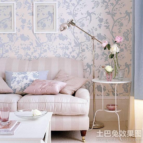 欧式风格沙发背景墙挂画图片