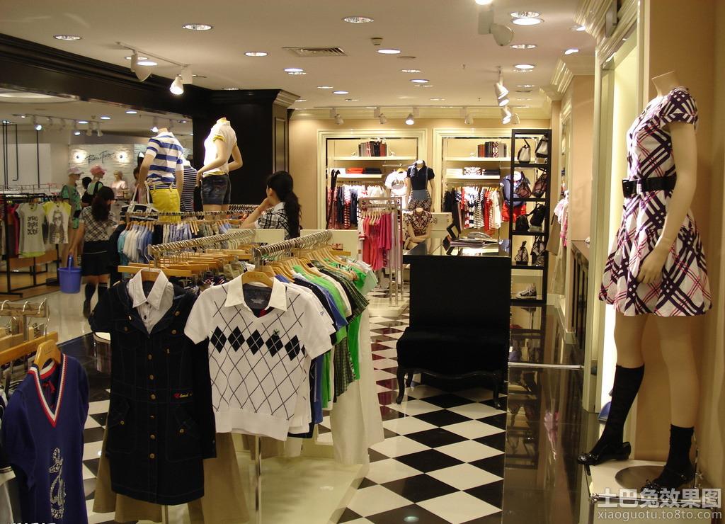 韩国服装店装修图片