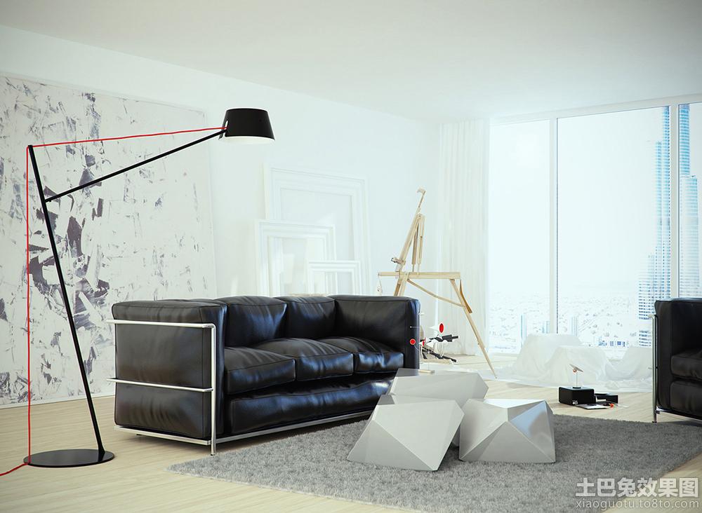 北欧风格客厅装修图片