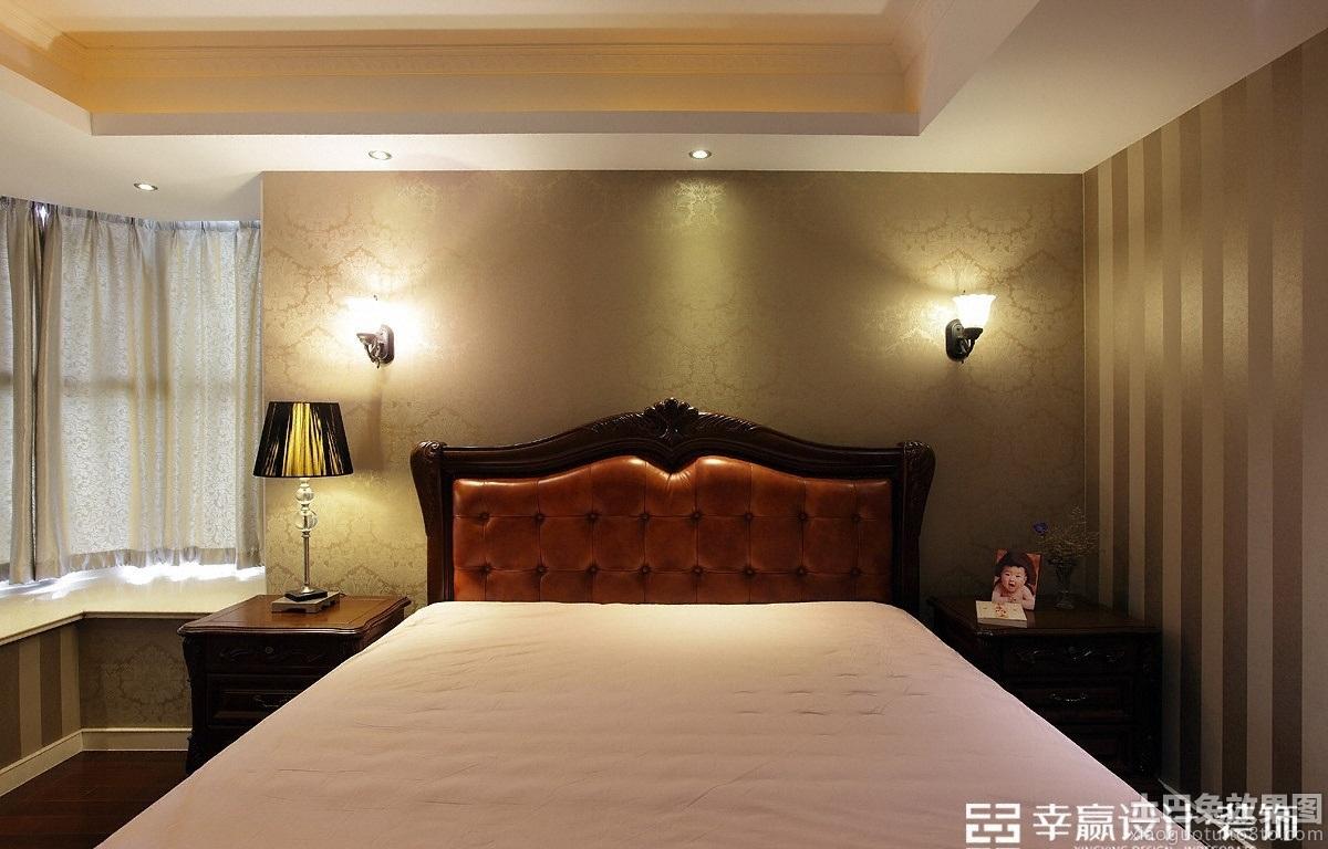 卧室壁纸装修效果图大全图