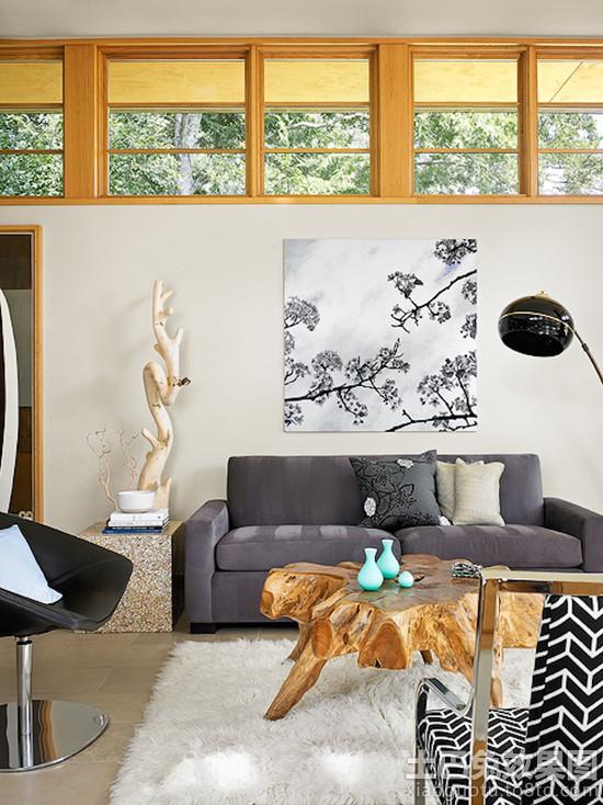 客厅木雕茶几图片 - 装修效果图 - 九正家居网