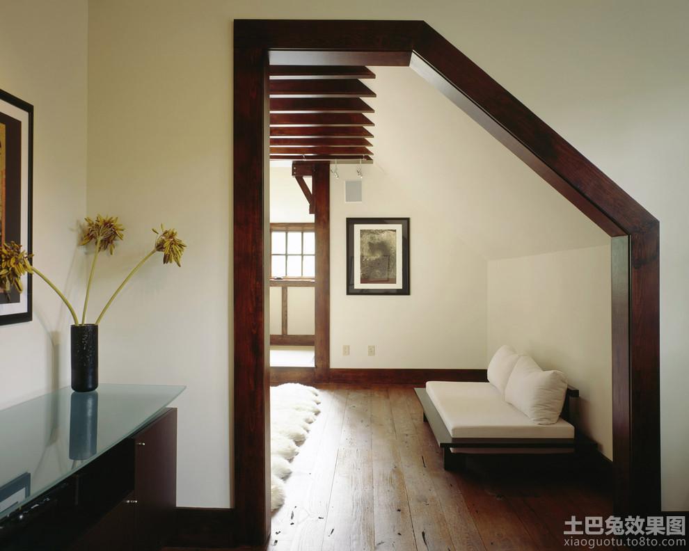 别墅木地板走廊图片别墅客厅木地板装修效果图图片6