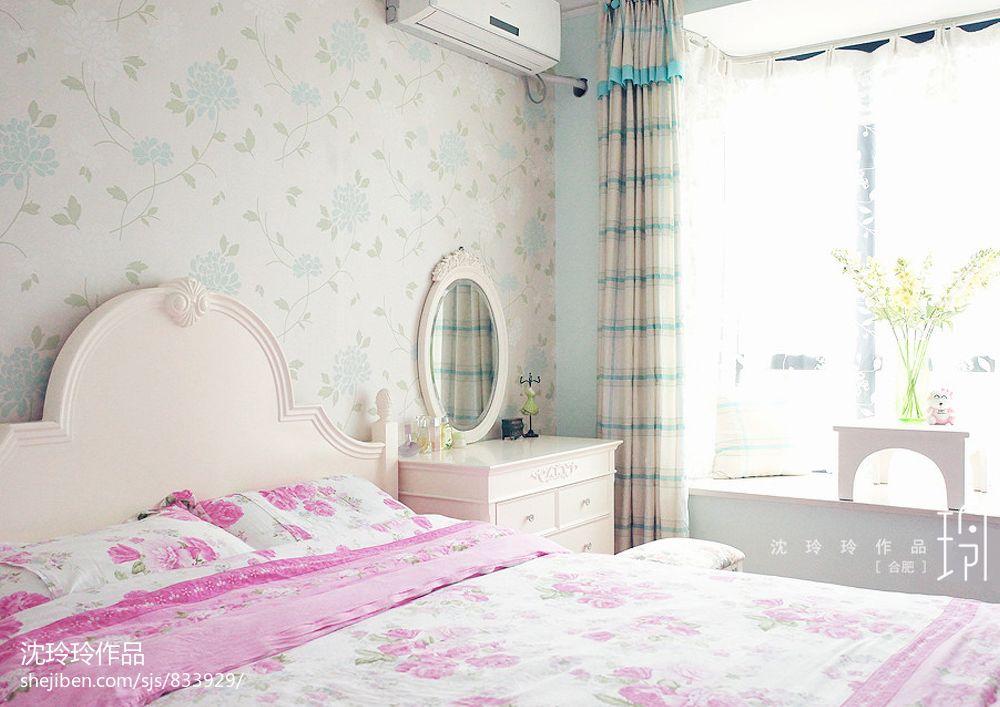 最新卧室壁纸装修效果图片