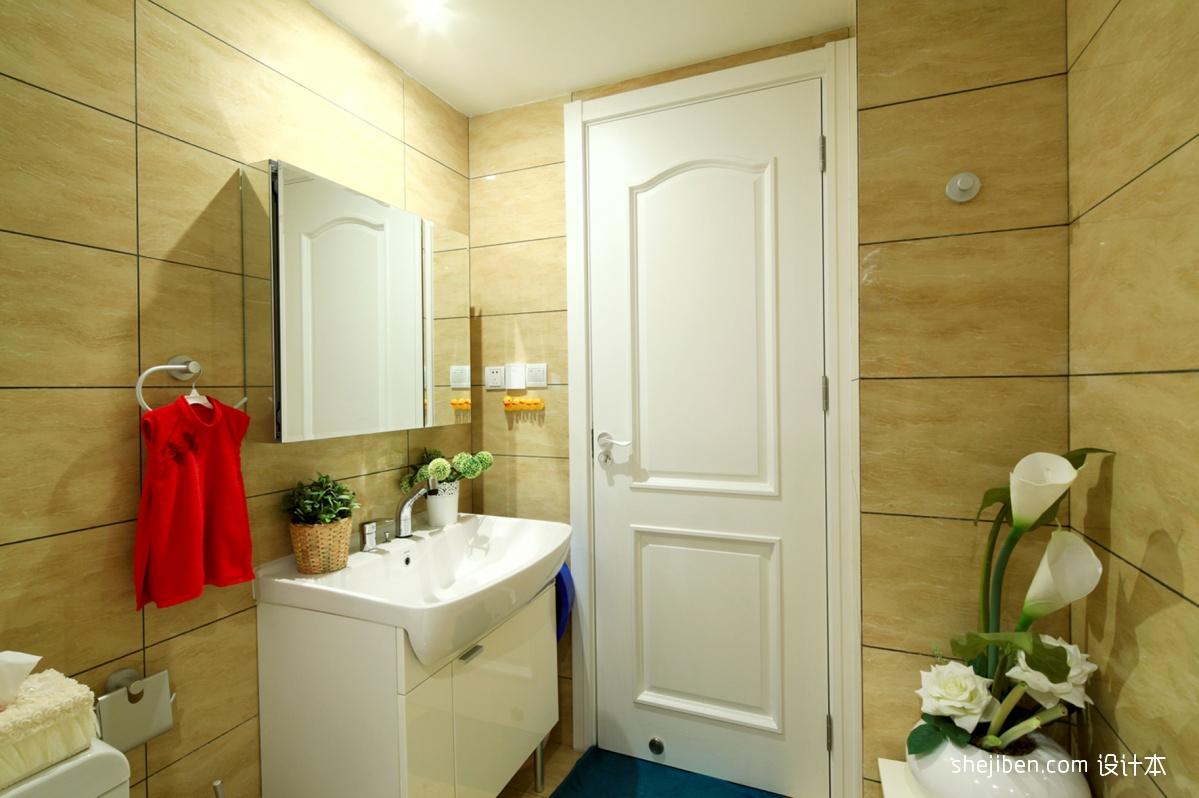 小卫生间门装修效果图片