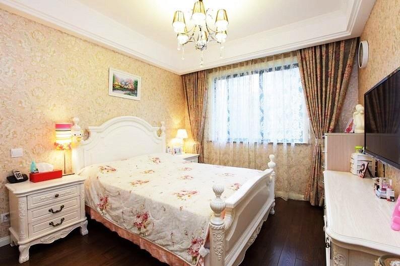 2013欧式风格卧室装修效果图片