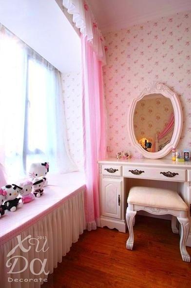 女生卧室飘窗装修效果图大全