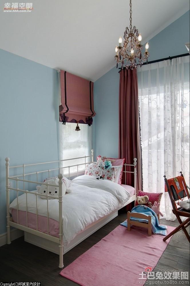 温馨儿童卧室装修图片