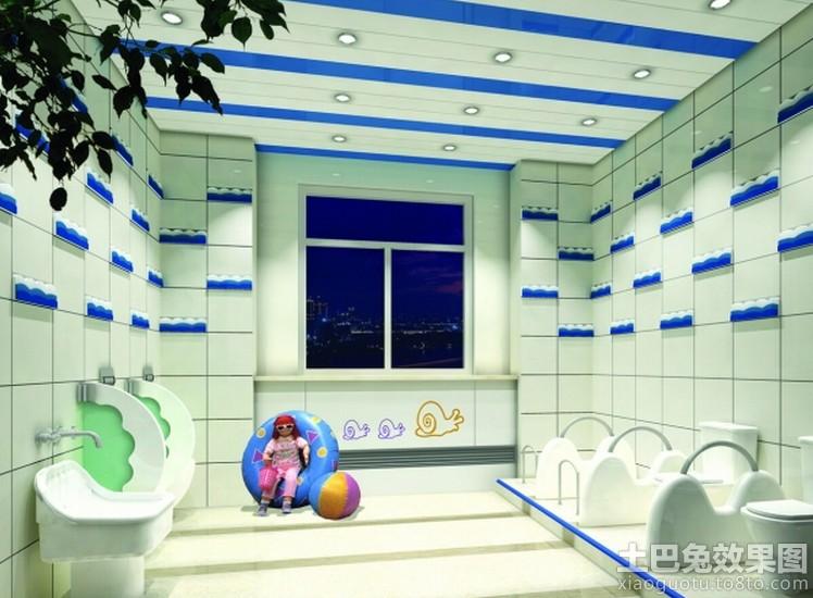 幼儿园洗手间装修图片