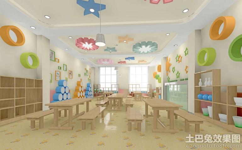 60平米幼儿园教室设计图片