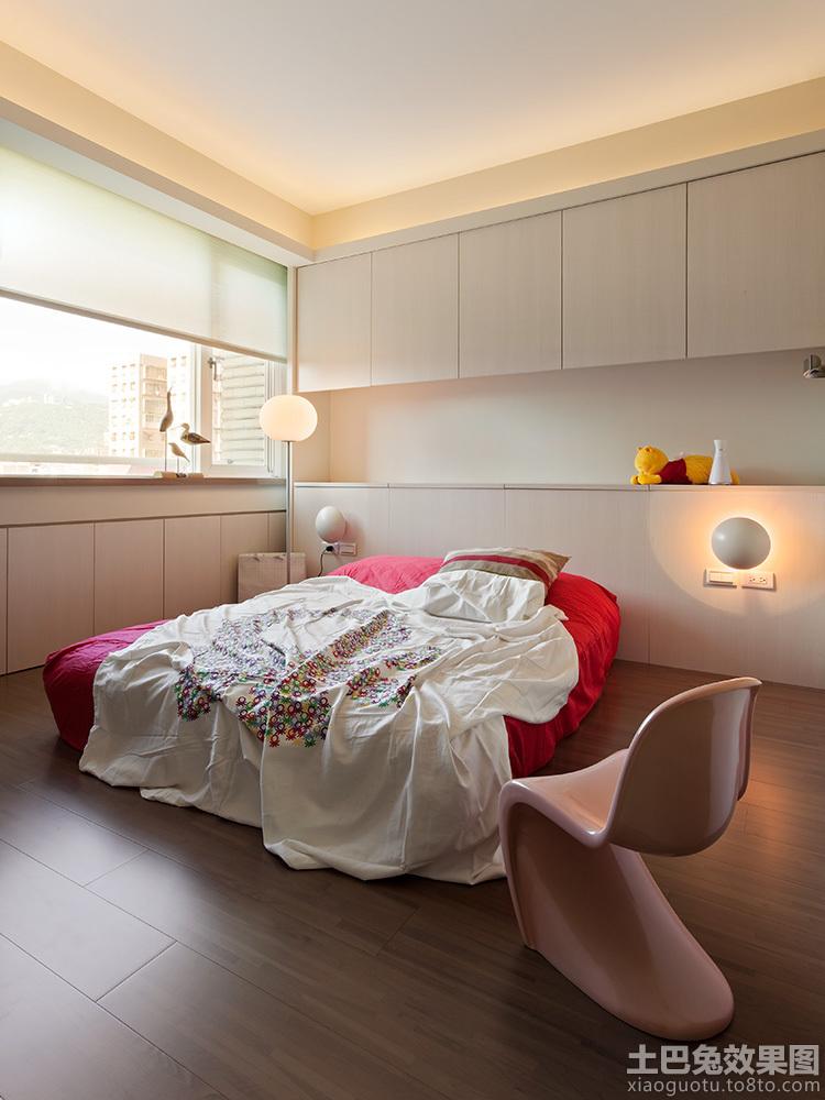 卧室床头壁柜装修效果图大全