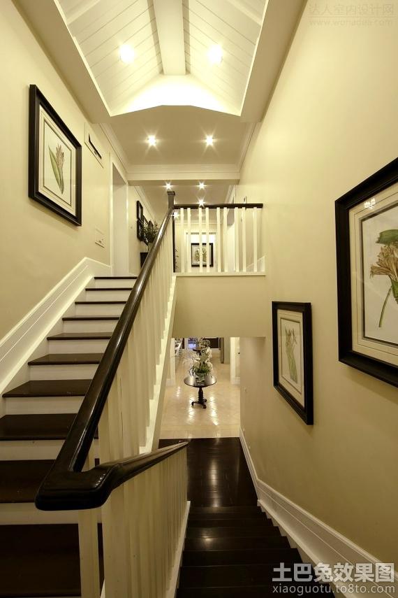 楼梯墙壁装饰效果图