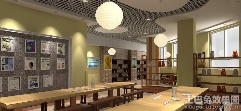 特色幼儿园餐厅装修设计图片