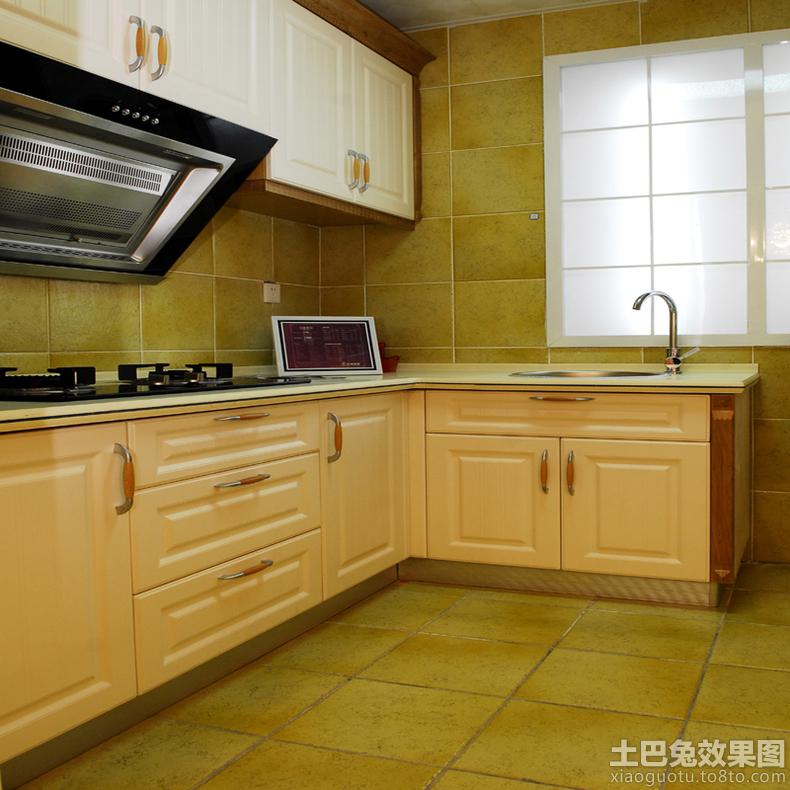 l型开放式厨房橱柜效果图