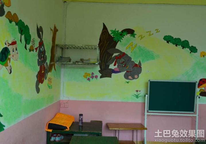 幼儿园教室墙面装饰效果图