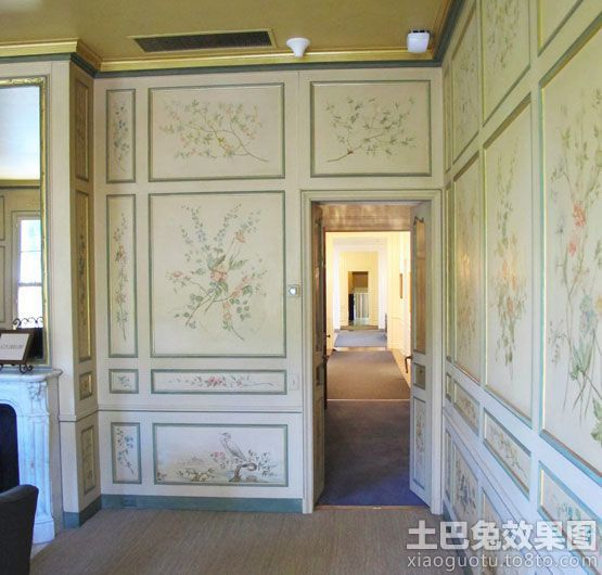 室内手绘墙壁画图案大全