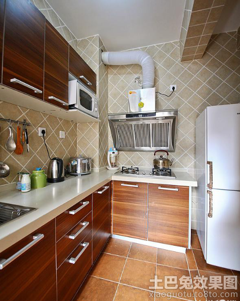 简约小户型厨房装修效果图大全