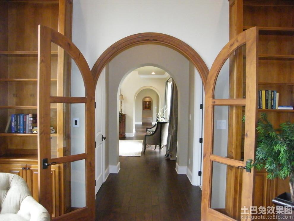 家庭实木欧式玻璃门图片图片