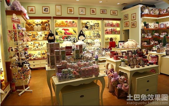 乐高玩具专卖店室内陈设图片