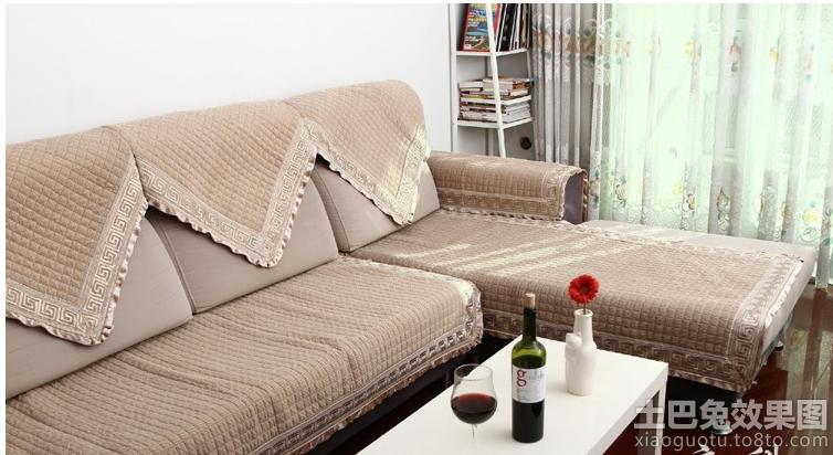 客厅沙发毛线编织坐垫