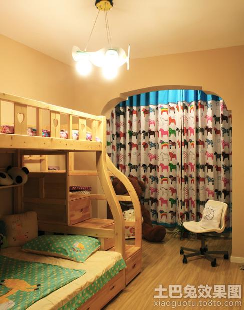 上下铺儿童房设计效果图大全