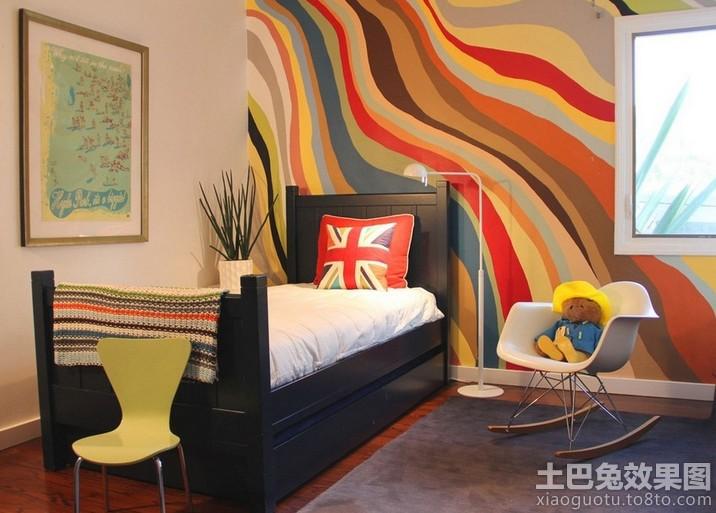 创意涂鸦手绘墙画图片