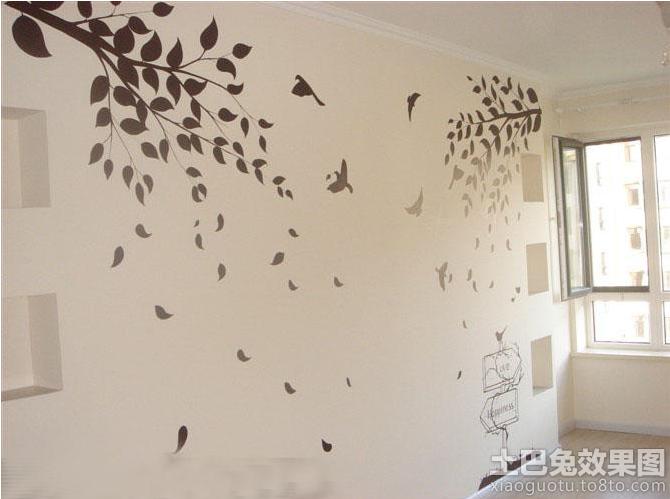 手绘墙画图片欣赏