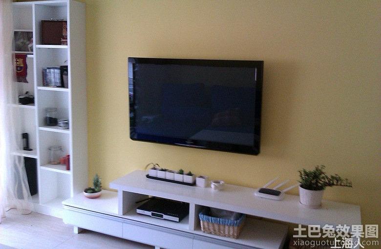 简单电视柜背景墙装修效果图大全2013图片