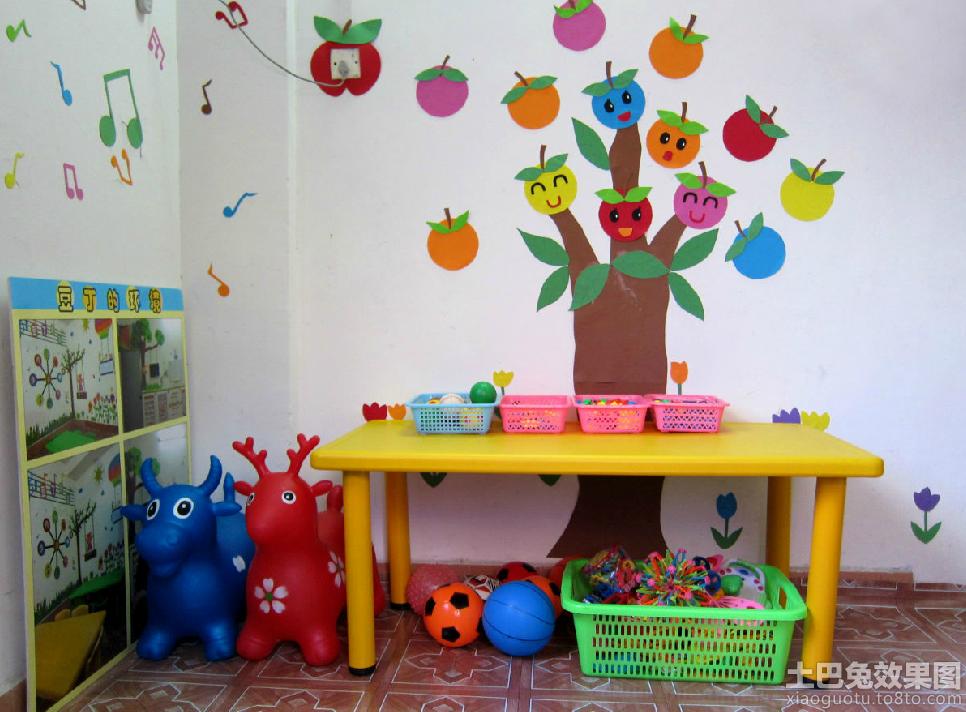 幼儿园小班墙面环境布置图片