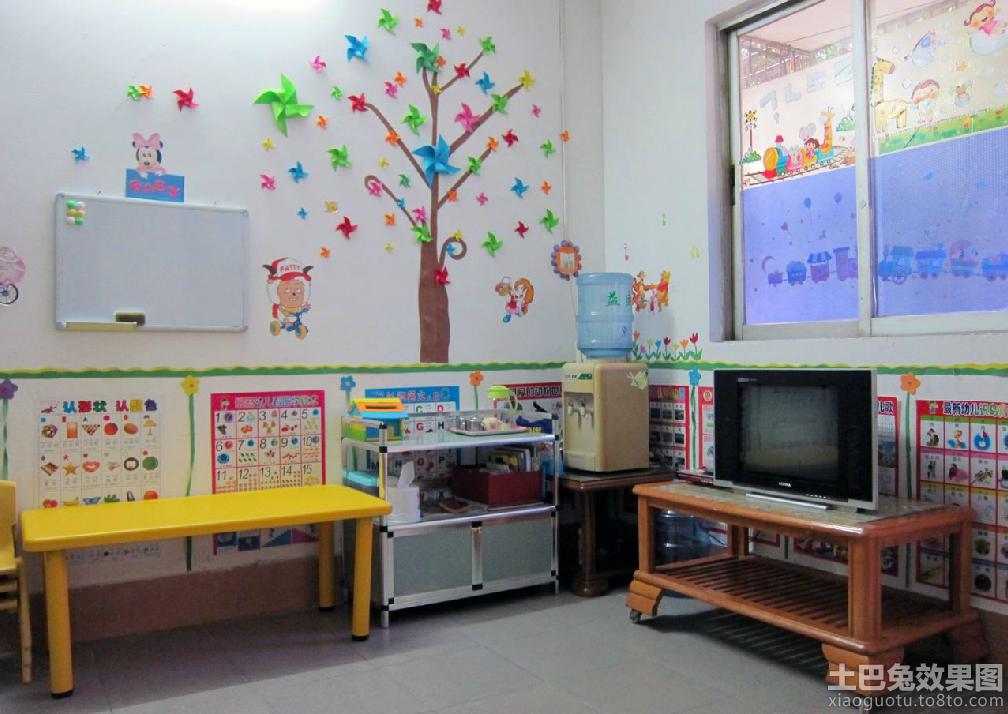 幼儿园小班教室环境布置图片