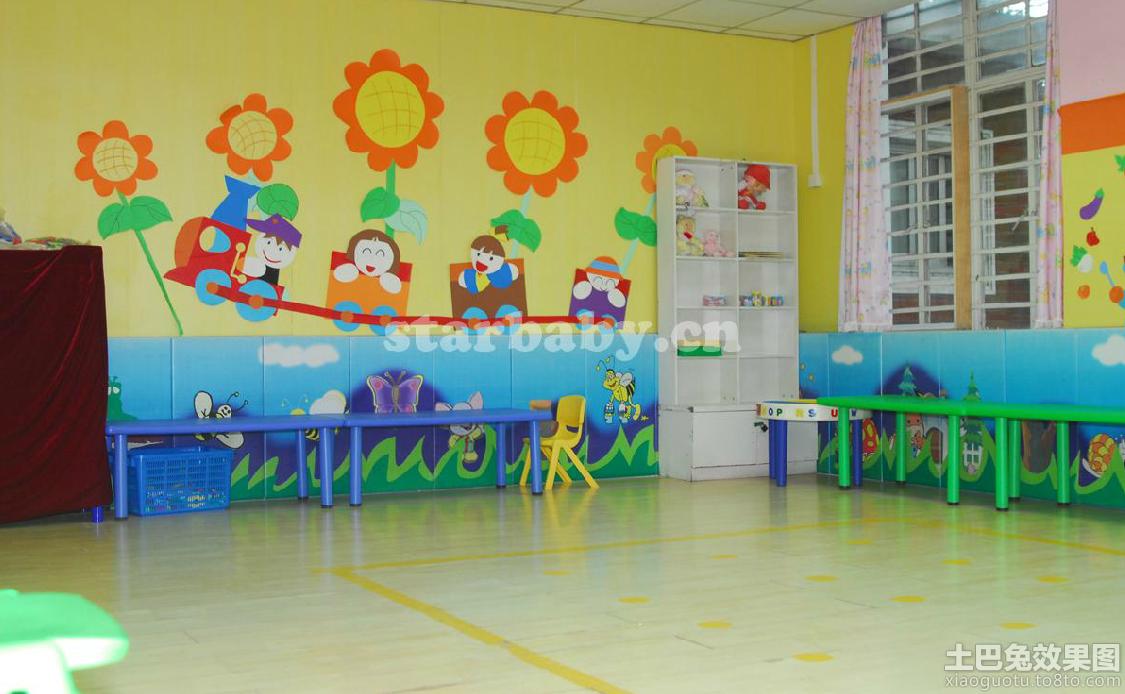 幼儿园小班环境布置图片
