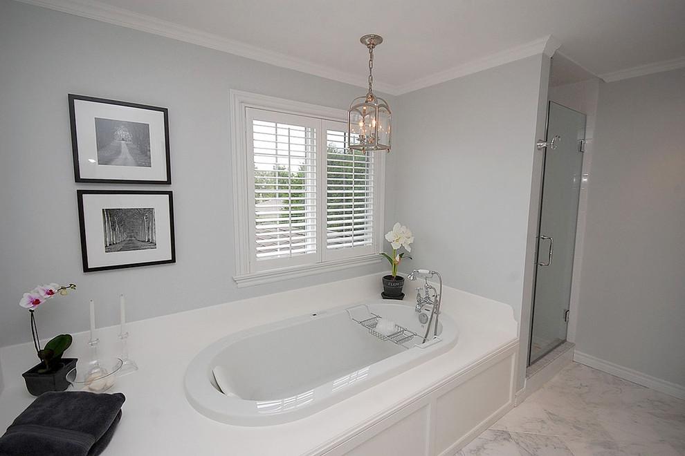 卫生间浴室浴缸装修效果图