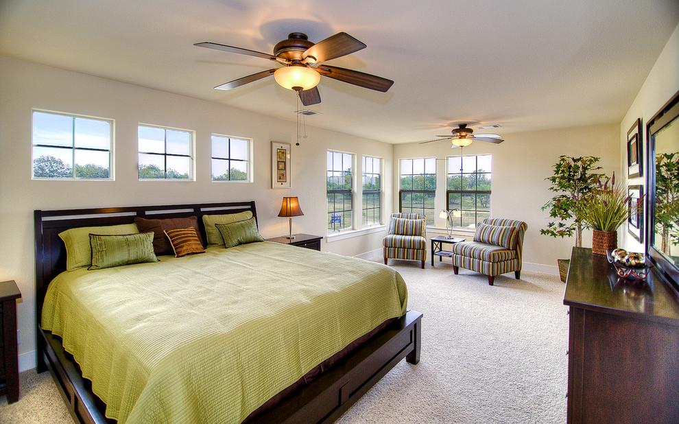 欧式主卧室实木床装修效果图