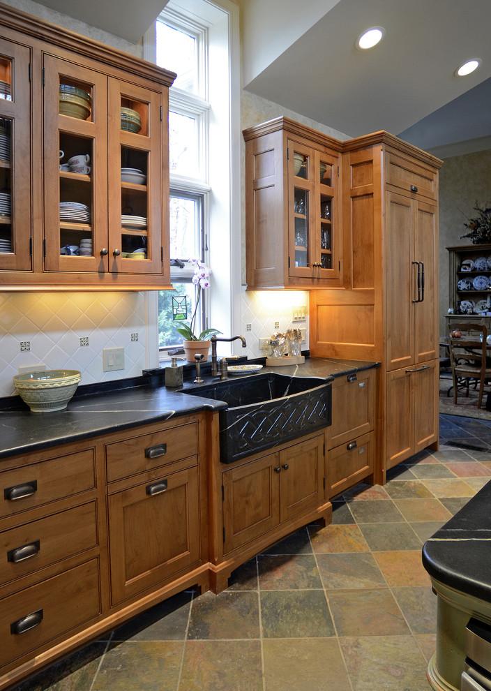 厨房实木整体橱柜效果图图片