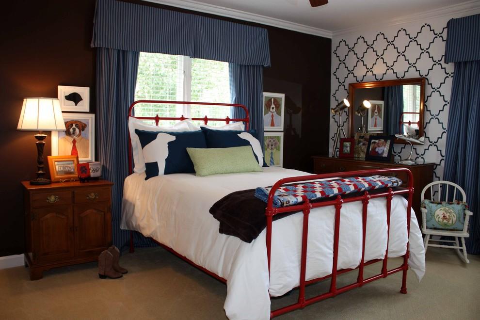 男孩卧室装修设计图