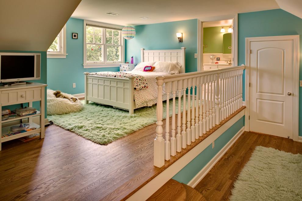 欧式卧室木地板装修效果图图片