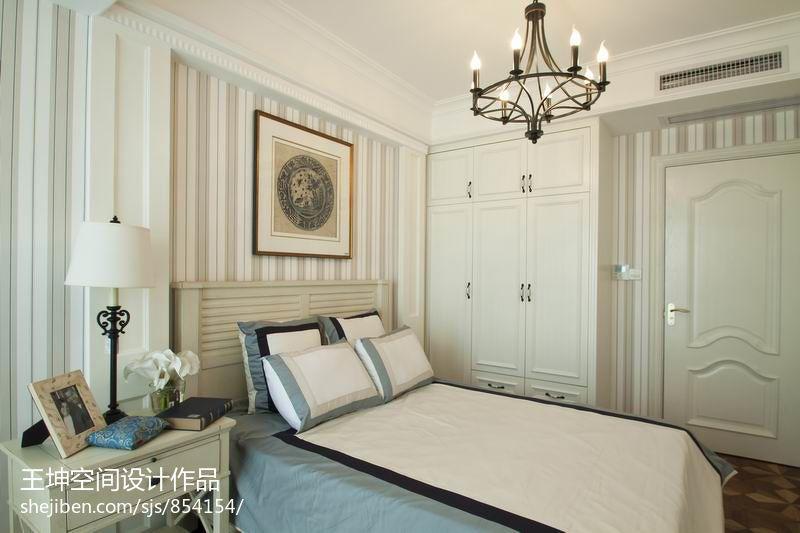 欧式卧室衣柜设计效果图片