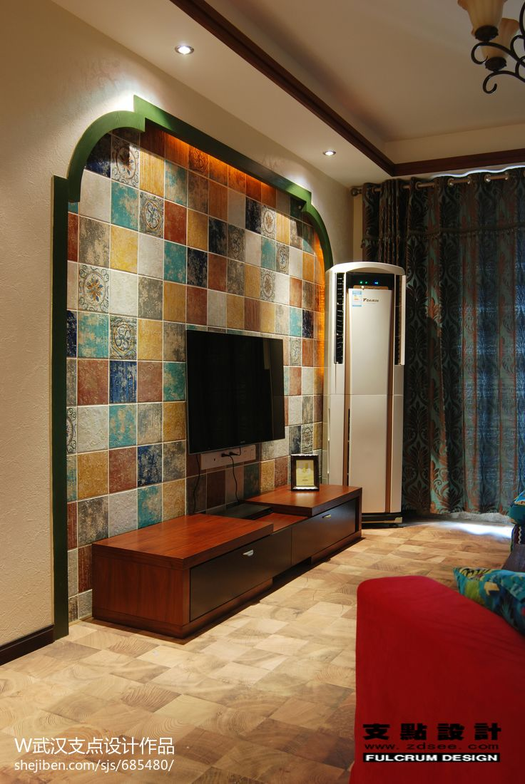 东南亚风格三居室装修设计